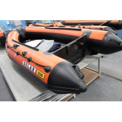 Лодка надувная транцевая Солар Оптима-310 оранжевый