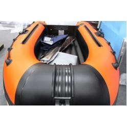 Лодка надувная транц Солар Оптима-330 оранжевый