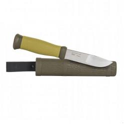 Нож рыбака Mora  2000 Green с ножнами (10629)