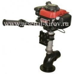 Лодочный мотор водомет Кальмар Хонда 4х-т 2,5л.с. 9,5