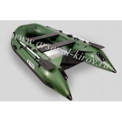 Лодка моторная Gladiator B330AL зеленый