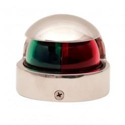 Навигационный огонь двухцветный, нос (нержавейка) 900006(151208)