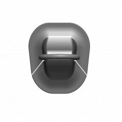 Рым-кольцо среднее черное 45мм
