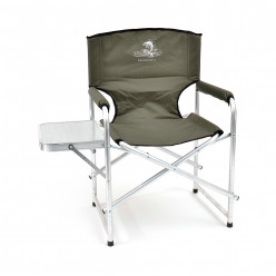 Кресло скл. Кедр со столиком алюм. AKS-05