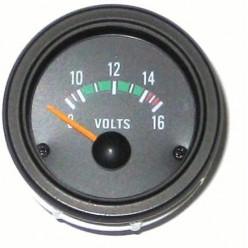 Вольтметр черный RTD52VOB12V
