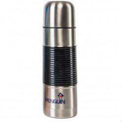 Термос 0.75 л с узким горлом в индивидуальной коробке с резиновой вставкой