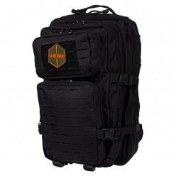 Рюкзак тактический RU 065 цв.Черный тк.Оксфорд 35л