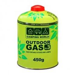 Катридж газовый CW 450г. резьбовой (381865)