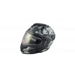 Шлем модулярный LEO SNOWHUNTER EDL III M13 бел/сер/чёр кмф мат 3XL