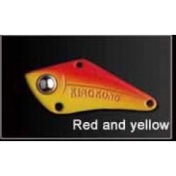 Блесна GT-BIO KingKong VI 7гр 6см красно-желтый