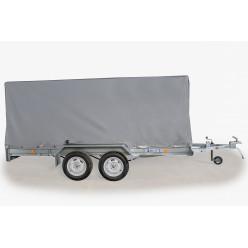 Тент с каркасом для автоприцепа ЛАВ-81013