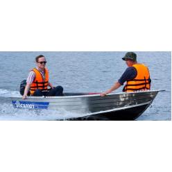 Лодка алюминиевая Салют 360М Jaeger