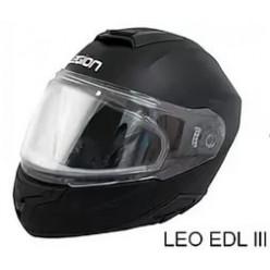 Шлем модулярный LEO EDL III M33 черный матовый 3XL