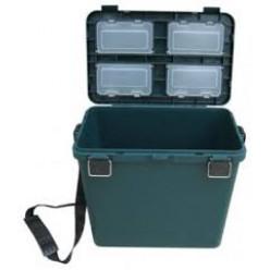 Ящик зимний пластиковый односекционный Helios