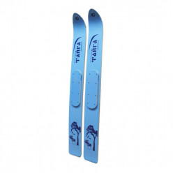Лыжи Тайга охотничьи дерево-пластик  145/15 см
