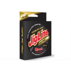 Плетеный шнур JigLine Ultra PE 0.24мм 18кг 100м жел