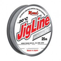 Плетеный шнур  JigLine Winter 25м 0.08мм 5,6кг
