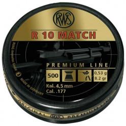 Пули пневматические RWS R10 Match Rifle 4.5мм 500шт