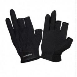 Перчатки TSURIBITO SFG-8016(3 открыт. пальца) черный