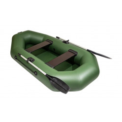 Лодка Барс 240 зелёный