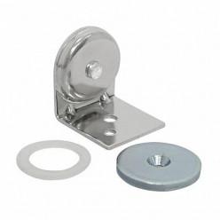 Фиксатор магнитный для двери,31x28x31мм нерж003687