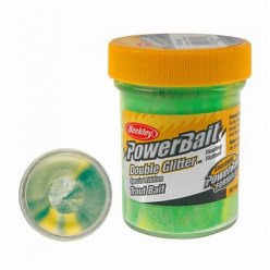 Фор.паста FW PowerBait 50гр зел/бел блест