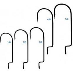 Крючки Saikyo KH-12001 BN №2/0 (10шт) офсетный