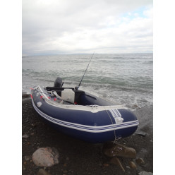 Лодка надувная транцевая Солар Максима-450 К синий