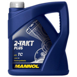 Масло MANNOL 2 takt PLUS 4 л. п/синт