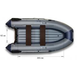 Надувная моторная лодка ФЛАГМАН-350