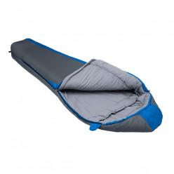 Спальный мешок Btrace Nord 5000 (левый, Серый/Синий) 230+80*50 t -5 -12