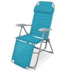 Кресло-шезлонг складное  К3/бирюзовый