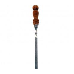 Шампур с деревяной ручкой 50см