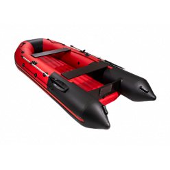 Лодка Таймень NX 3600 НДНД Pro красный/чёрный