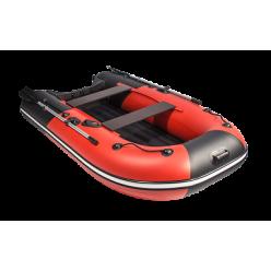 Лодка моторная гребная Ривьера Компакт 3200 НДНД комби красный/черный