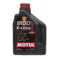 Масло MOTUL 8100 X-cess 5W-40 2л  синтетика