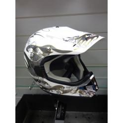 Шлем (кросс) МС130  белый Тип 20 (XL)