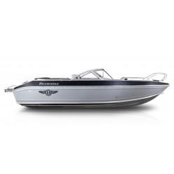 Лодка Волжанка 51 Фиш транец 510мм с доп. опциями RU-ABS 51203G717