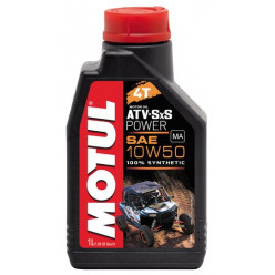 Масло MOTUL ATV-SXS Power 4T 10W50 1л