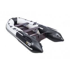 Лодка моторно-гребная Ривьера 3400 СК светло-серый/черный