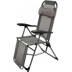 Кресло-шезлонг складное  К3/ГР графитовый