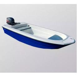 Лодка стеклопластиковая Wyatboat 430 тримаран