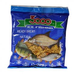 Прикормка зимняя готовая Sensas 3000 BREAM NATURAL 0.5кг