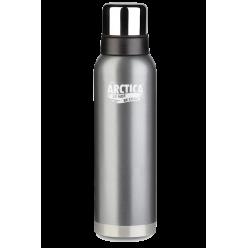 Термос Арктика бытовой,вакуум,900мл(серый)