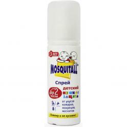 Спрей от комаров Mosquitall Нежная защита для детей 100мл