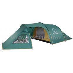 Палатка GREENELL Арди 3 зеленый размер 220/460/120 см