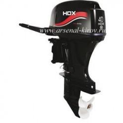 Лодочный мотор HDX Т 40 BMS 2-тактный