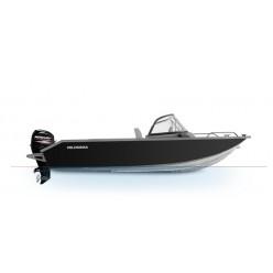 Лодка Волжанка 46 Фиш тр. 510мм с доп.опциями с мотором MERCURY F60ELPT