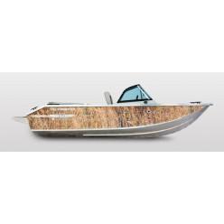 Лодка Волжанка 46 Фиш транец 510 с доп опциями RU-ABS46841K717