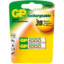 Аккумулятор GP 1000 AAА  BL2 286